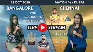 🔴LIVE RCB vs CSK GIRLS COMMENTARY | IPL 2020 - 44th Match | Royal Challengers Bangalore vs Chennai