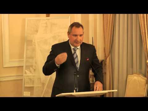 Deputy PM of Russia Dmitry Rogozin speaks at the Russian Embassy in London 15.04.2013 Part 2