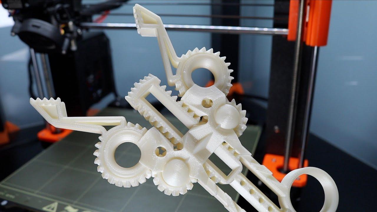 Satisfying TimeLapse: 3D Printed Mechanical Gadgets on Prusa MK3S - STL Ep. 3