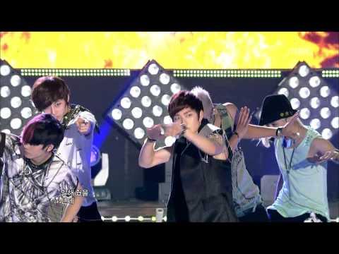 NU'EST - Action, 뉴이스트 - 액션, Music Core 20120728