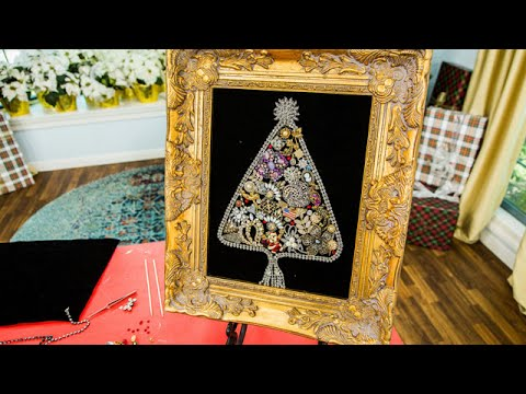 Orly Shani's DIY Vintage Jewelry Christmas Tree – Hallmark Channel