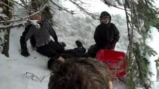 Practice Drill For Klondike, Boy Scouts 259