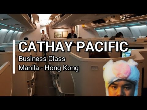 VLOG #41 Cathay Pacific Business Class