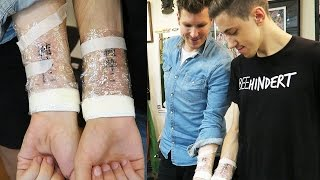 Pärchen Tattoo | Das Mal der Spandauer Gedächtnisschelle