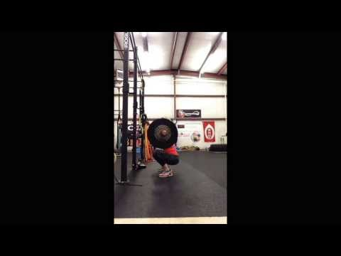 Front Squat Holly Mitchell IFBB PRO
