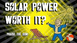 Fallout 4 - Solar Powered Perk - Is It Worth It?