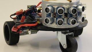 Autonomous Self-Learning Robot (Q-Learning)