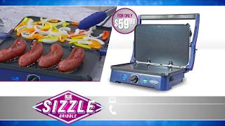 Blue Diamond Sizzle Griddle