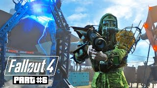 Fallout 4 Gameplay Walkthrough, Part 6 - THE INSTITUTE!!! (Fallout 4 PC Ultra Gameplay)