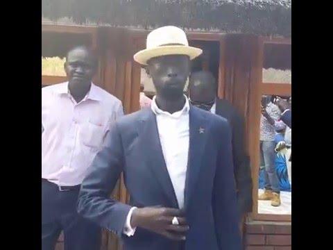 Thanksgiving South Sudan Minister MABIOR GARANG