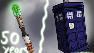 Hammy Draws-Doctor Who 50th Anniversary Fanart
