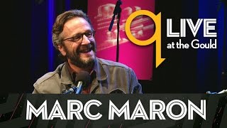 Marc Maron shares his interview skills with Shad : q Live at the Gould