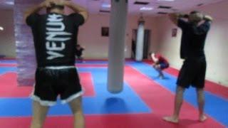 Тайский бокс в домашних условиях - комплекс на выносливость
