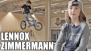 Lennox Zimmermann, 10 ans et surdoué du BMX !