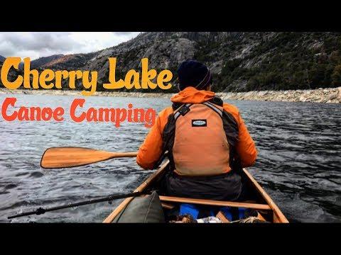 Canoe Camping At Cherry Lake