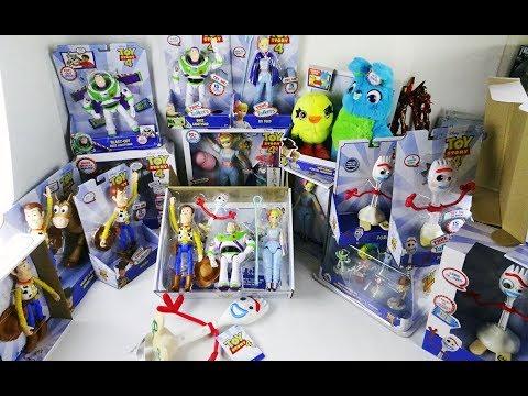"""Сравнение игрушек из """"История игрушек 4"""" - Disney Vs Mattel Vs Thinking Toy"""