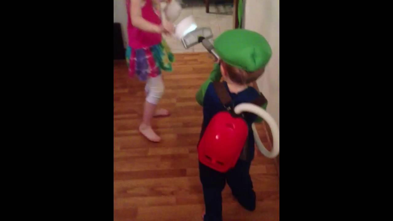 Luigis Mansion Poltergust 3000 Homemade Toy Youtube