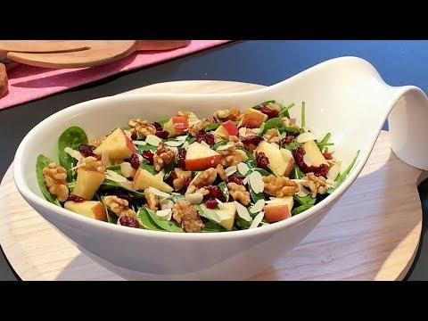 salade-d'épinards-et-sa-vinaigrette-(délicieuse-et-très-nutritive)