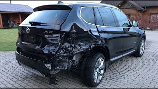 BMW X3. Body repair. Ремонт кузова.