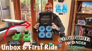 Cloudwheel D120 Unbox & First Ride - Andrew Penman EBoard Reviews - Vlog No.157