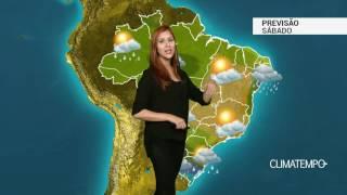 Previsão Brasil - Mais chuva para o Sul e o Nordeste