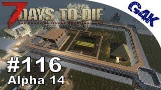 7 Days To Die | Defenses all around | 7 Days to Die Gameplay Alpha 14 | S06E79