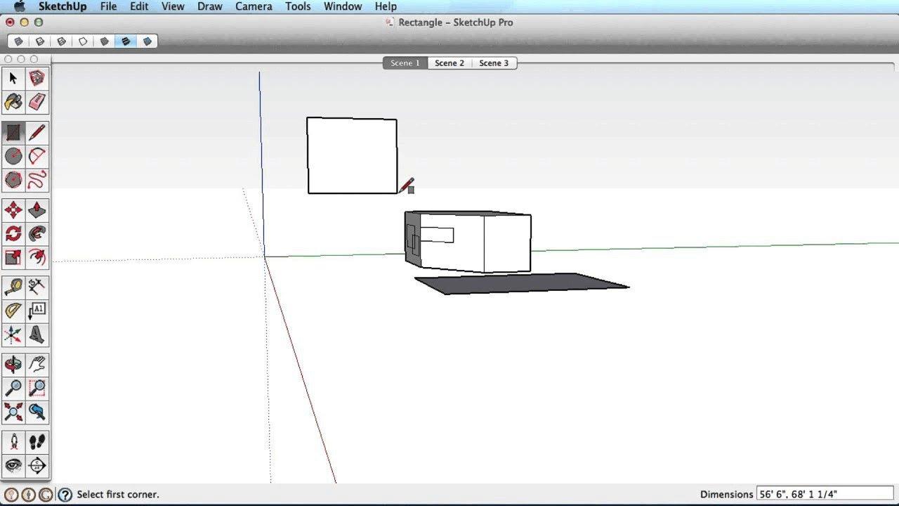 Drawing Basic Shapes | SketchUp Help