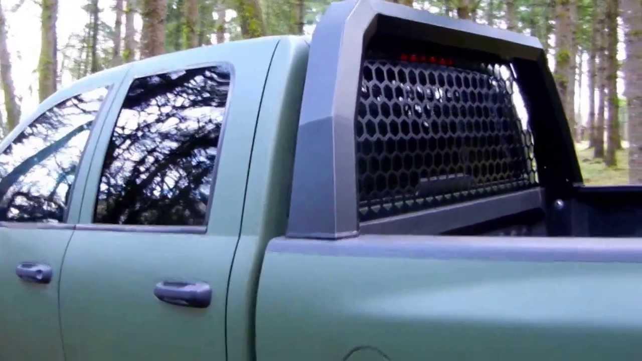 headache rack dodge santiam truck