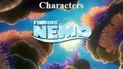 Finding Nemo - Characters