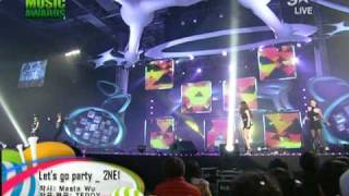 Download Mp3  Hq  2ne1 - Let's Go Party @2009 Melon Music Awards