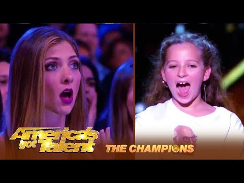 Issy Simpson: BGT's 10-Year-Old Magician Will Make You Say WHAT?!   America's Got Talent: Champions