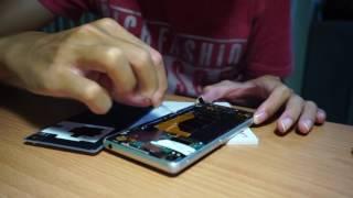 SONY XPERIA Z3 電池更換