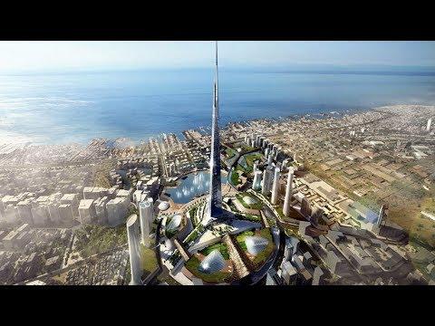 Jeddah/Kingdom Tower - World's Tallest Building - 1km+ Tower - June 2017 Update