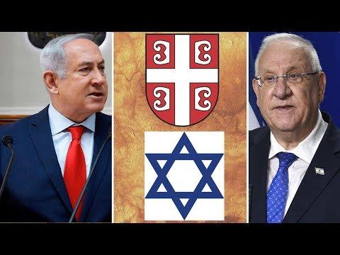 Srbi su starosedeoci Balkana - Netanjahu i Rivlin