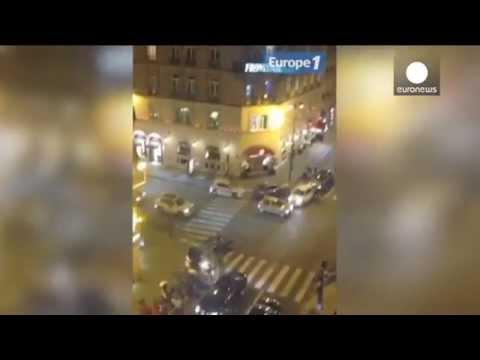 [WATCH] Gunmen open fire in Champs-Elysees District in Cartier's robbery