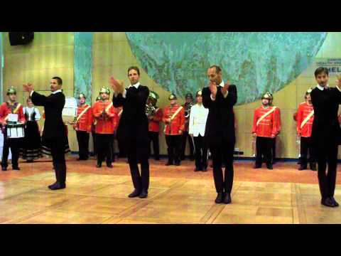 Hungarian firefighters orchestra with professional dancers - Budapest 13.09.12