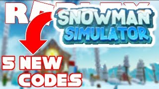 *ALL* Snowman SImulator Codes | Most OP Codes | Roblox