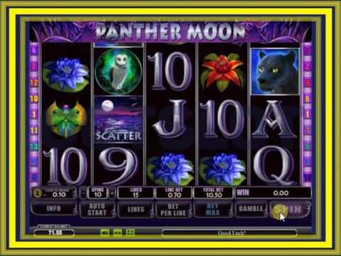 Игровой автомат Panther Moon Лунная Пантера