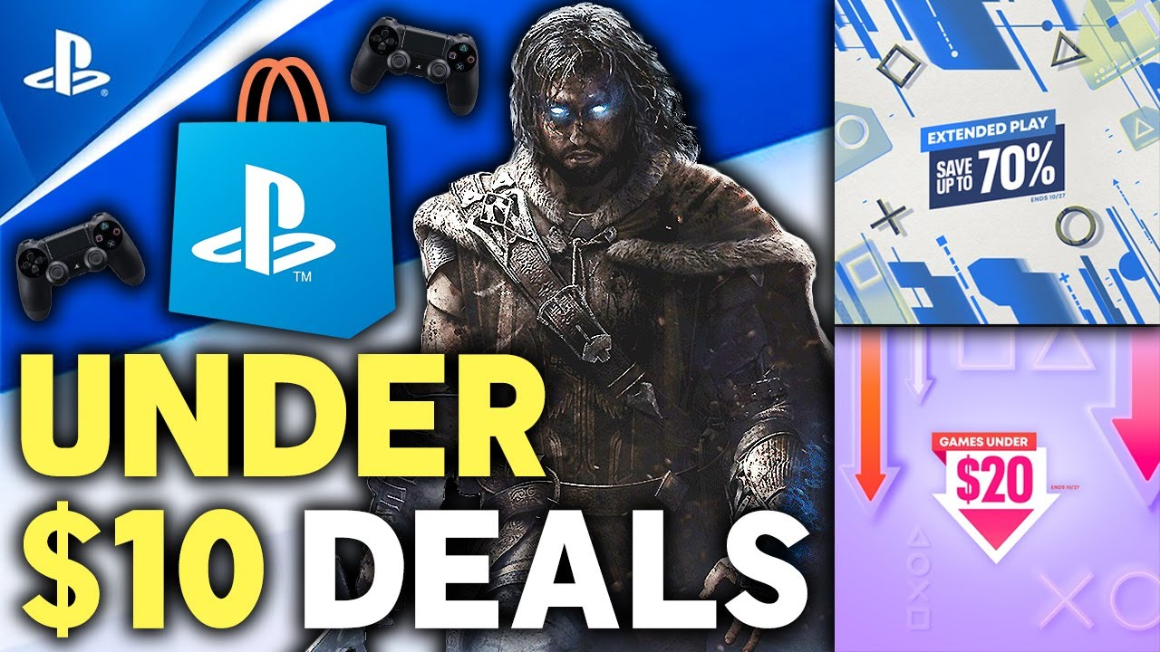 Download 10 Awesome PSN Deals UNDER $10 Now Super CHEAP PS4 Game Deals! PSN Extended Play + UNDER $20 Sales