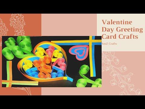 DIY Paper craft    Valentine Day Gift Card making    Easy Craft..