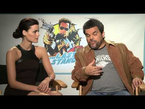 The Last Stand (2013) Exclusive: Luis Guzman and Jaimie Alexander (HD) Arron Shiver, Arnold