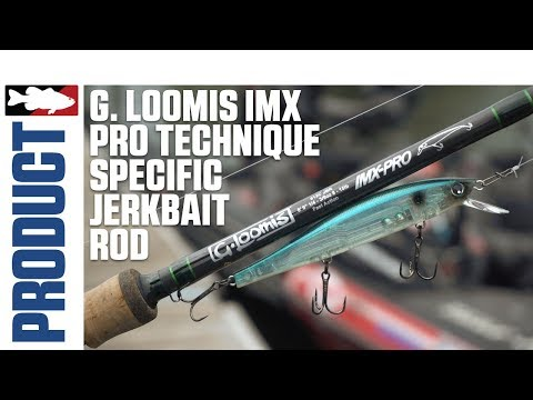 G. Loomis IMX Pro Jerkbait Rod With Luke Clausen