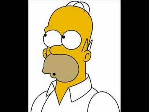 Homer Simpon - Yummy, Yummy ive got love in my tummy