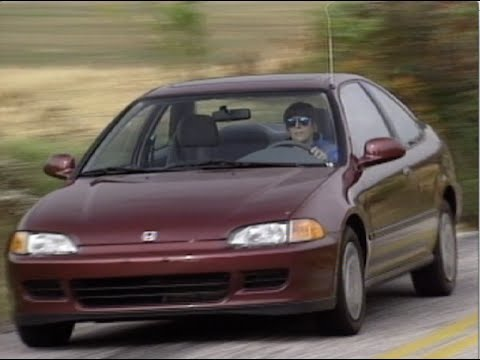 Motorweek Retro Review 93 Honda Civic Coupe Youtube