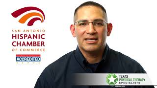 Felix G. Yruegas Jr. with Texas Physical Therapy Specialists-Member Testimonial