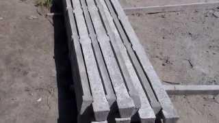 Столбики для шпалер Бетонные армированные(, 2014-04-16T13:08:23.000Z)