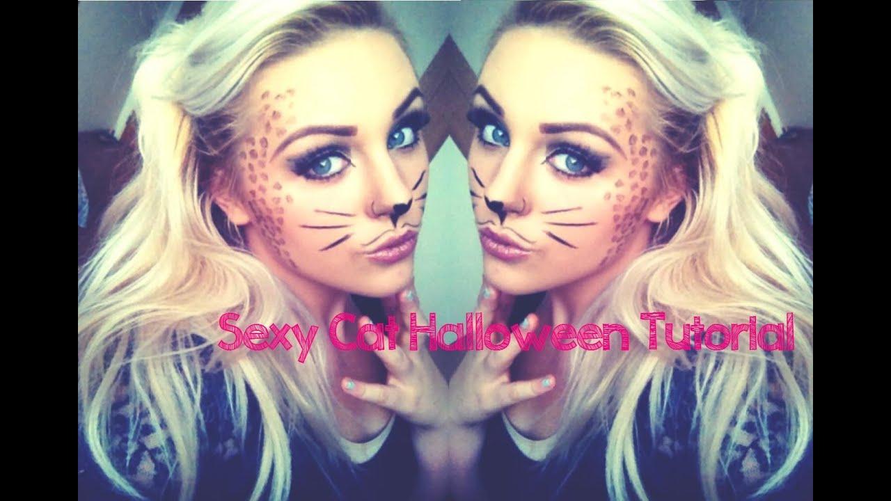 beginners halloween sexy cute cat makeup tutorial youtube - Halloween Makeup For Beginners
