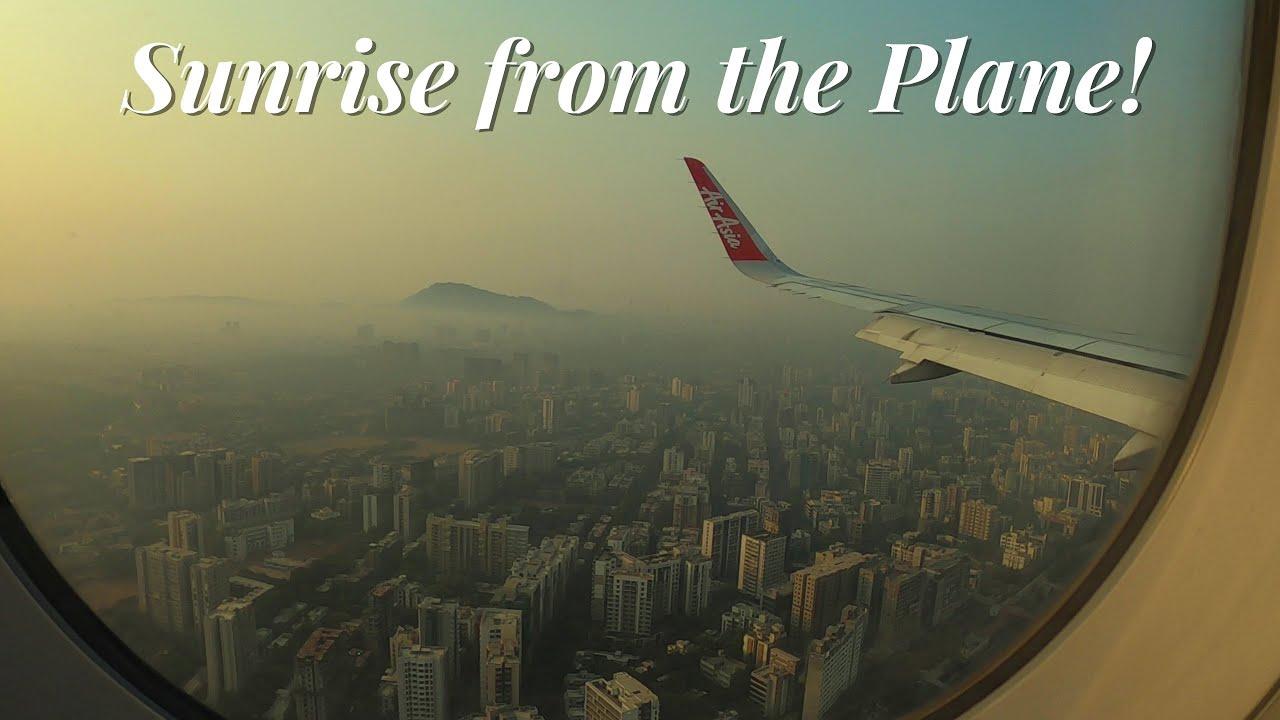✈️KOLKATA to MUMBAI Flight Experience of Air Asia's AIRBUS A320-200 🇮🇳
