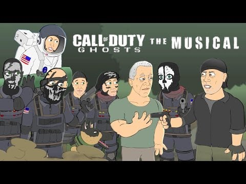 CALL OF DUTY: GHOSTS THE MUSICAL - Animated Parody Music Video by Logan Hugueny-Clark [10 HOURS]