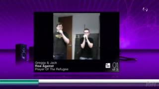 SingStar Vol. 2 (game only) PlayStation 3 Gameplay -